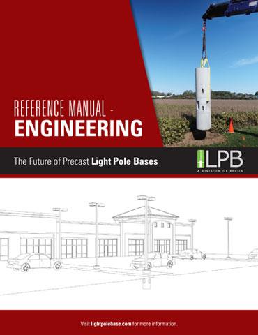 light pole base engineering