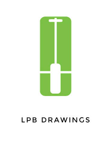 drawings for light pole bases